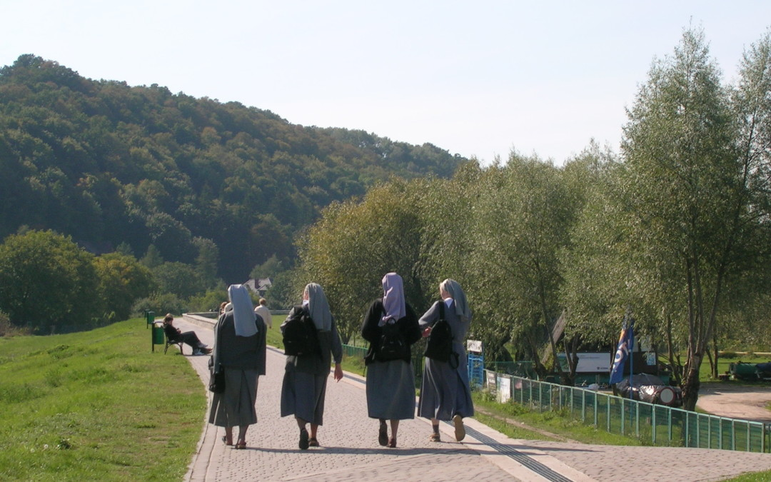 Nuns Protesting a City Ban on Cannabis