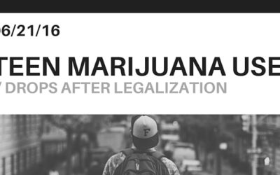 This Survey Determines What Happens to Teen Marijuana Use After Legalization